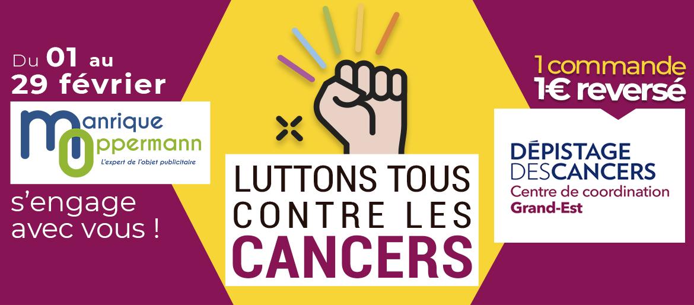 Manrique Oppermann participe à la lutte contre le cancer