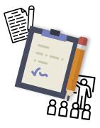 Illustration des conférenciers personnalisés