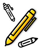 Illustration des stylo à personnaliser