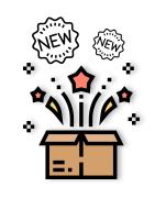 Illustration des nouveaux goodies personnalisés