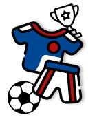 Objet publicitaire pour le foot