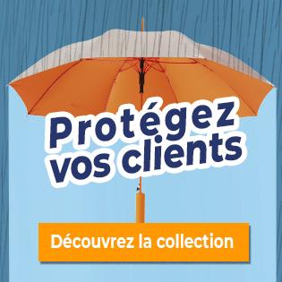 Sélection Parapluie publicitaire
