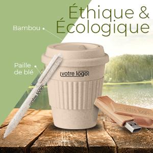 Objets publicitaires Ethiques et Ecologiques