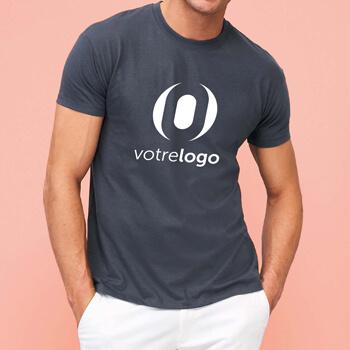 Tee shirt personnalise logo serigraphie